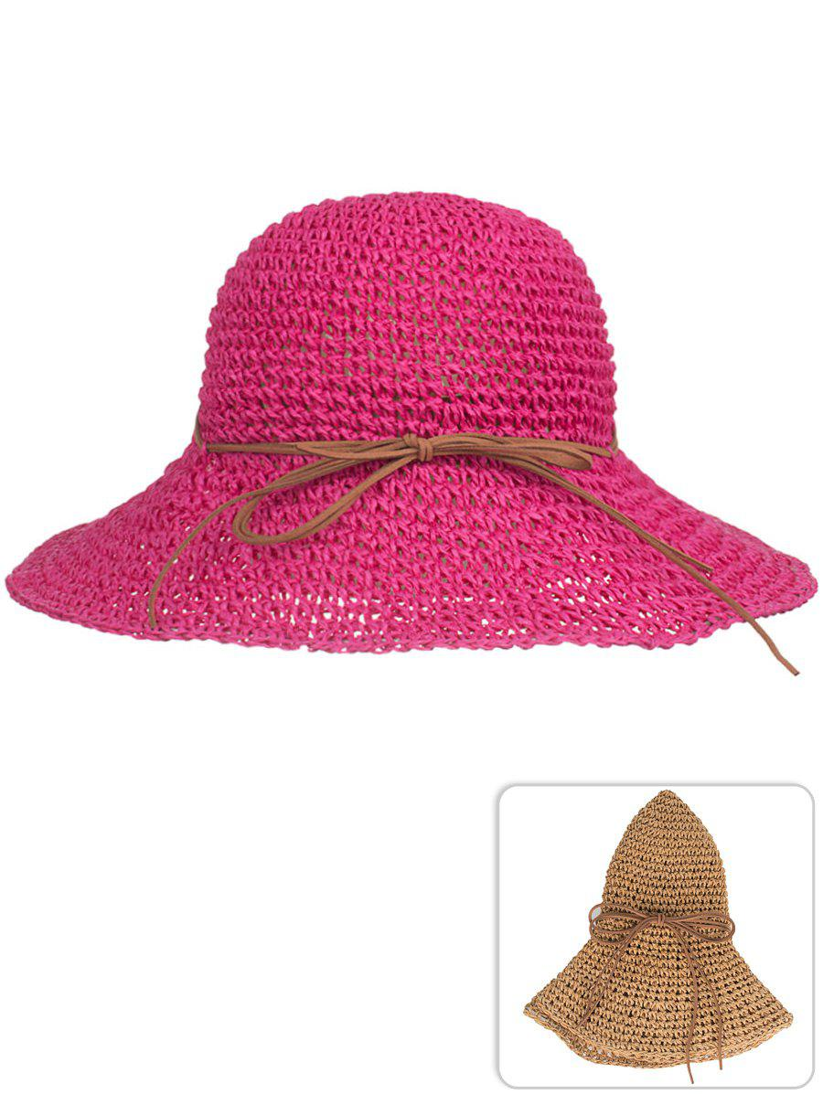 Unique Outdoor Bowknot Foldable Beach Sun Hat