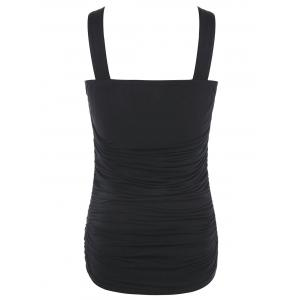 Multiway Crisscross Ruched Tank Top -