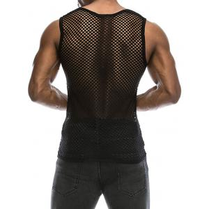 Mesh See Through Tank Top -