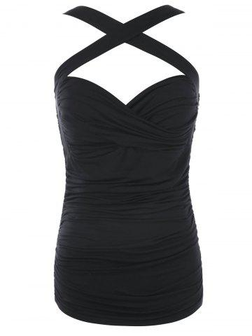 Buy Multiway Crisscross Ruched Tank Top