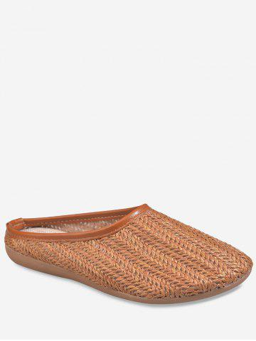 Best Hooded Straw Slip On Shoes
