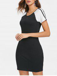 Color Block Tee Dress -
