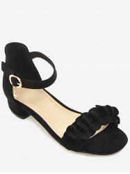 Plus Size Ankle Strap Chic Daily Sandals -