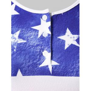 Plus Size American Flag Patriotic Tank Top -