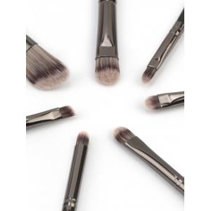 7Pcs Ultra Soft Silky Eye Makeup Brush Set -