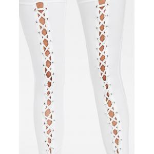 Criss Cross Fitted Pants -
