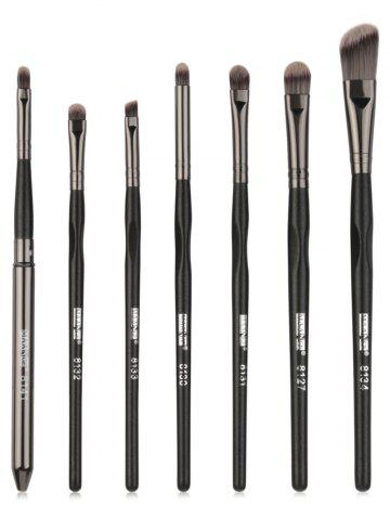Best 7Pcs Ultra Soft Silky Eye Makeup Brush Set