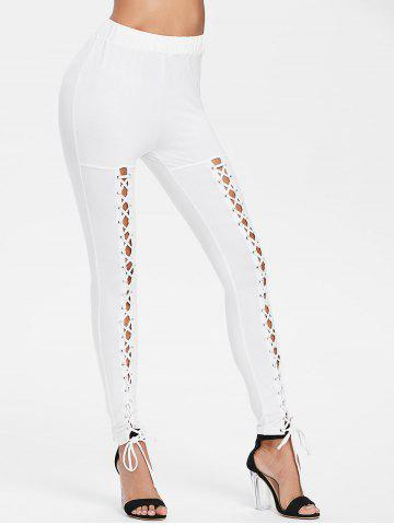 Criss Cross Fitted Pants
