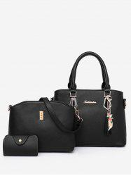 3 Pieces Chic Shopping Multi Function Tote Bag Set -