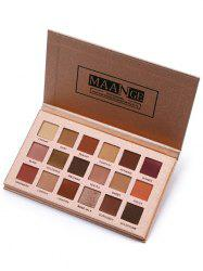 Professional High Pigment Shiny Color Eyeshadow Palette -