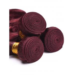 Dyeable Permed Body Wave Human Hair 3Pcs Indian Hair Weaves -