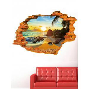 Sticker mural amovible 3D Brick Wall Brick -