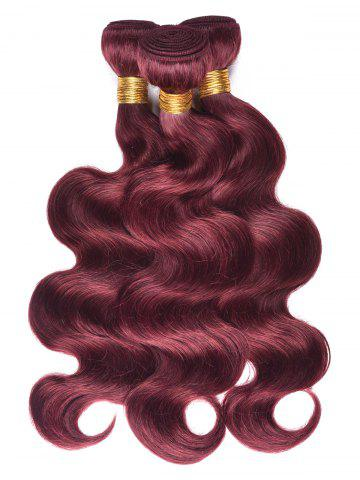 Sale Dyeable Permed Body Wave Human Hair 3Pcs Indian Hair Weaves
