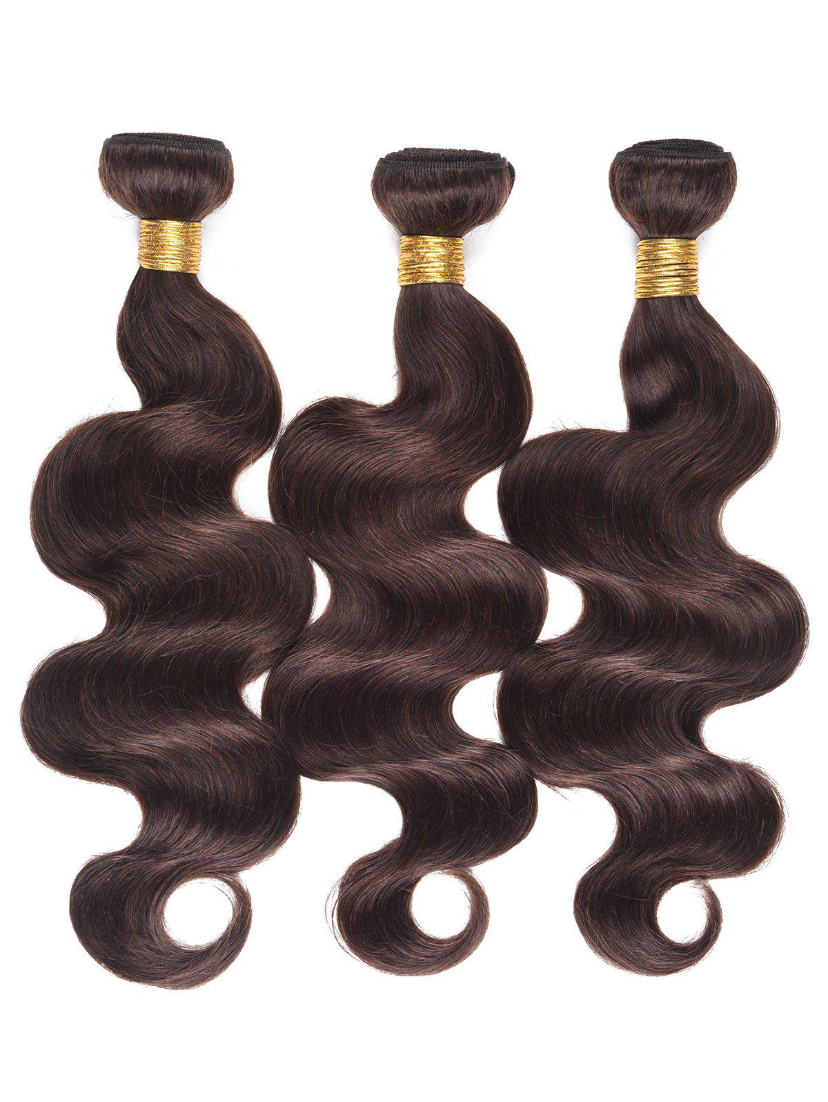 Store Dyed Permed Human Hair Body Wave Indian Hair Weaves