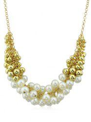 Artificial Pearls Decorations Chain Hanging Necklace -