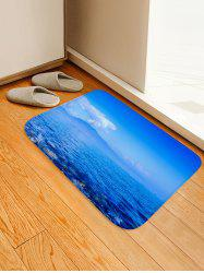Natural Sky Sea Print Non Slip Floor Rug -