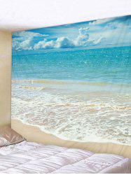 Beach Background Print Wall Hanging Tapestry Art -