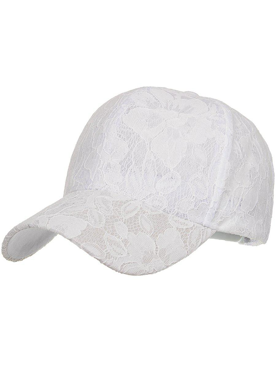 New Vintage Floral Lace Decorative Baseball Cap