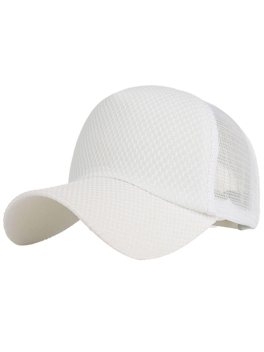 Affordable Shimmer Mesh Adjustable Baseball Hat