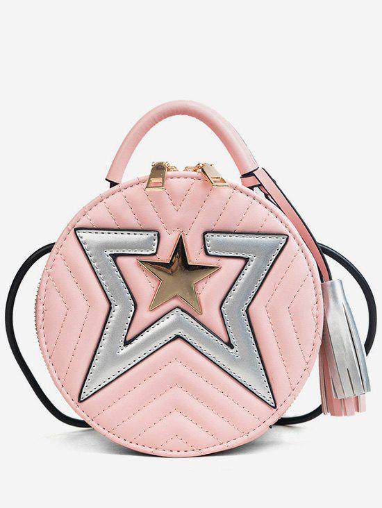 Latest Chic Tassels Stars Top Handle Crossbody Bag