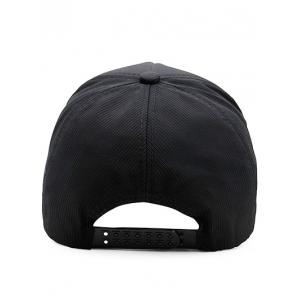 Solid Color Adjustable Graphic Hat -