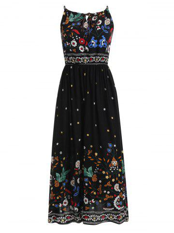 Affordable Floral Spaghetti Strap Dress