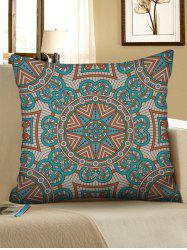 Mandala Print Linen Decorative Sofa Pillowcase -