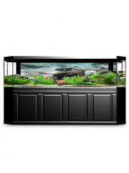 Underwater Stones Print Aquarium Background Decor Sticker -