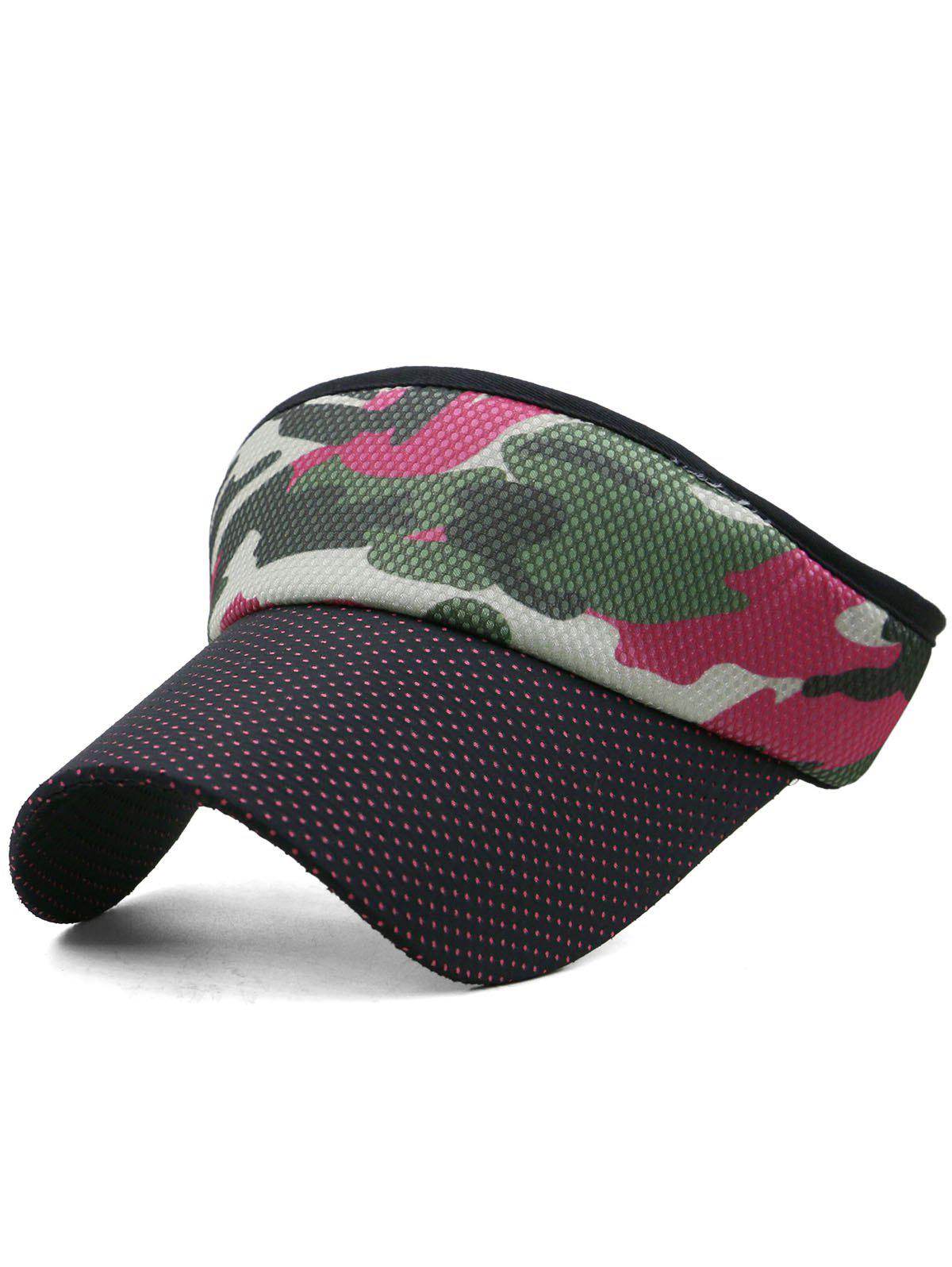 Best Outdoor Camo Printed Open Top Sunscreen Hat