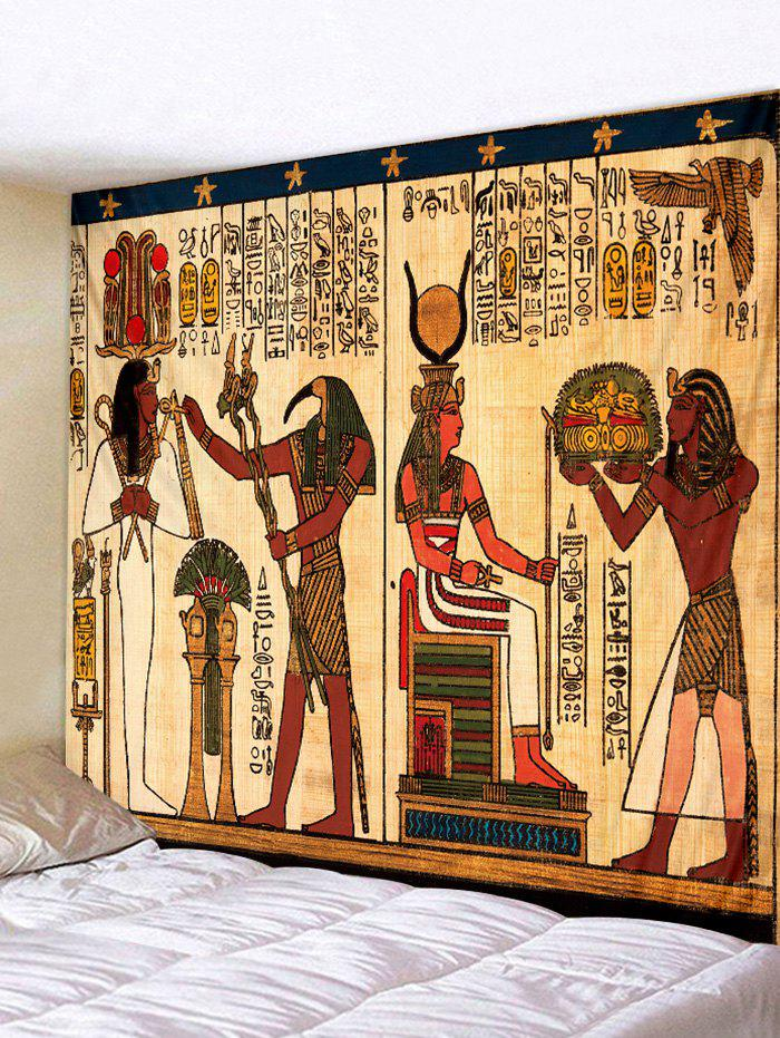 Multi W91 Inch * L71 Inch Ancient Egypt Print Tapestry Wall Hanging ...