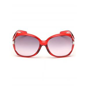 Stylish Hollow Out Frame Oversized Sunglasses -