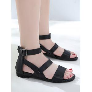 Buckle Strap Casual Crisscross Outdoor Sandals -