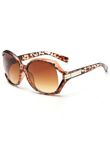 Best Stylish Hollow Out Frame Oversized Sunglasses