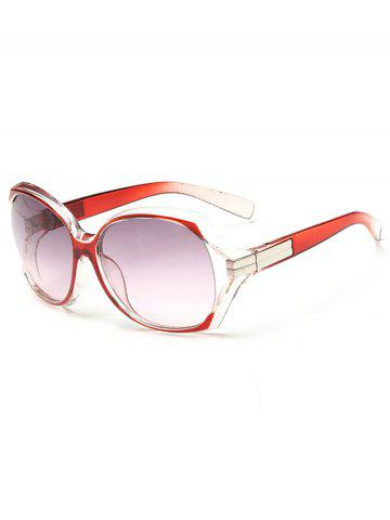 Outfit Stylish Hollow Out Frame Oversized Sunglasses