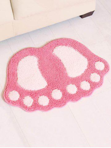Unique Footprint Shape Doormat Floor Mat
