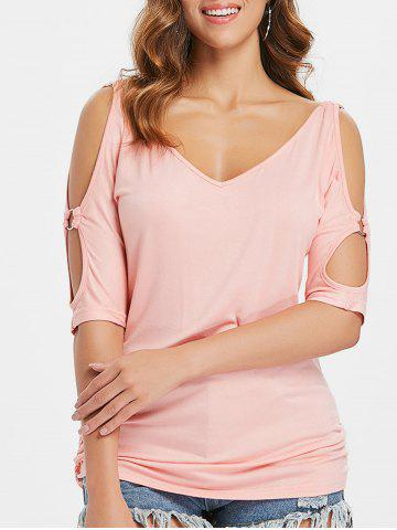 Affordable Cold Shoulder T-shirt