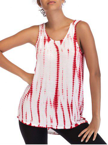 New Ombre Print Casual Sleeveless Top