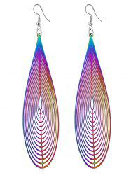 Unique Ethnic Style Water Drop Art Earrings -