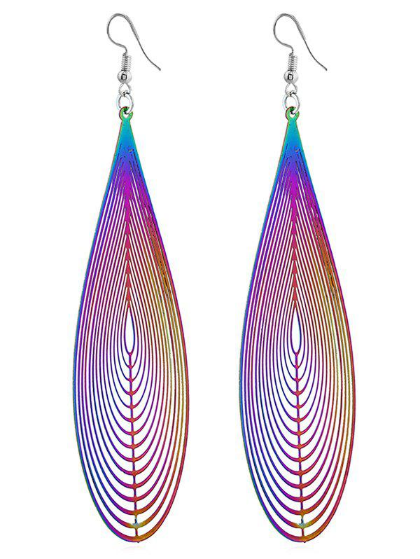 Chic Unique Ethnic Style Water Drop Art Earrings
