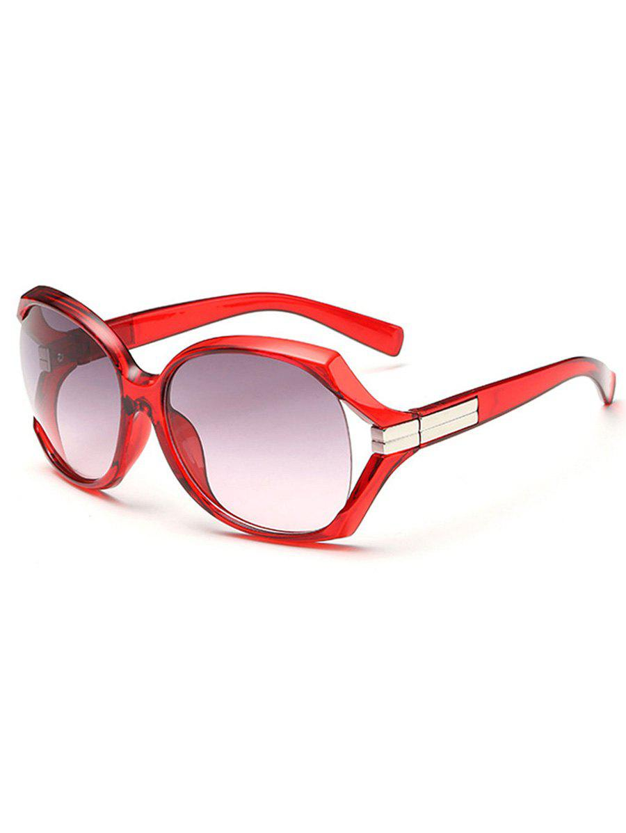 New Stylish Hollow Out Frame Oversized Sunglasses