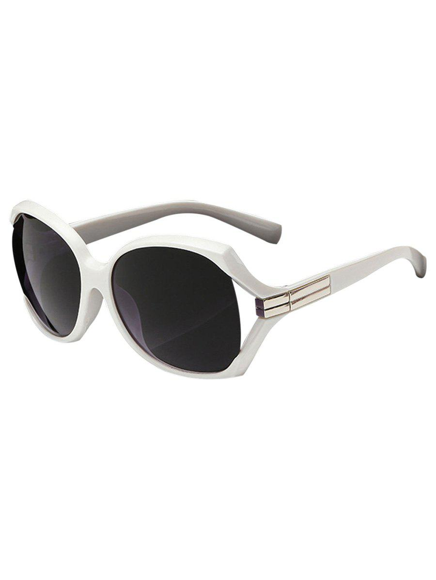 Discount Stylish Hollow Out Frame Oversized Sunglasses