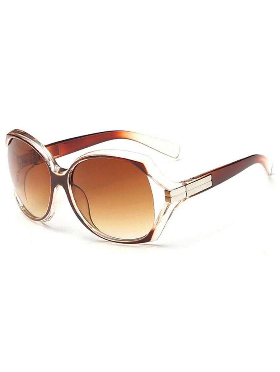 Cheap Stylish Hollow Out Frame Oversized Sunglasses