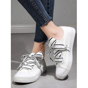 Breathable Leisure Lace Up Running Sneakers -