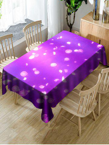 Fancy Small Jellyfish Printed Table Cover