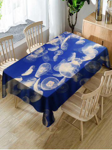 Online Jellyfish Printed Table Cloth