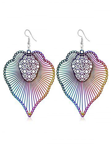 New Bohemian Striped Pattern Hook Earrings