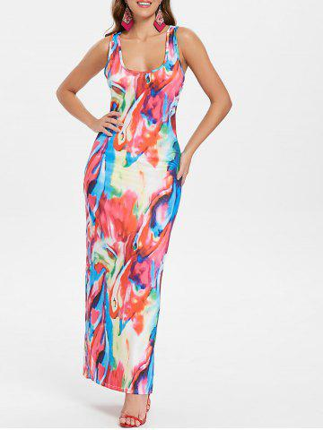 Shops Multicolor Racerback Tank Dress