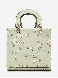 Refresh Flower Decorated Lace Handbag -