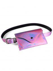 Fanny Pack Decorative Glossy Belt Bag -