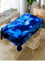 Jellyfish Pattern Decoration Table Cloth -